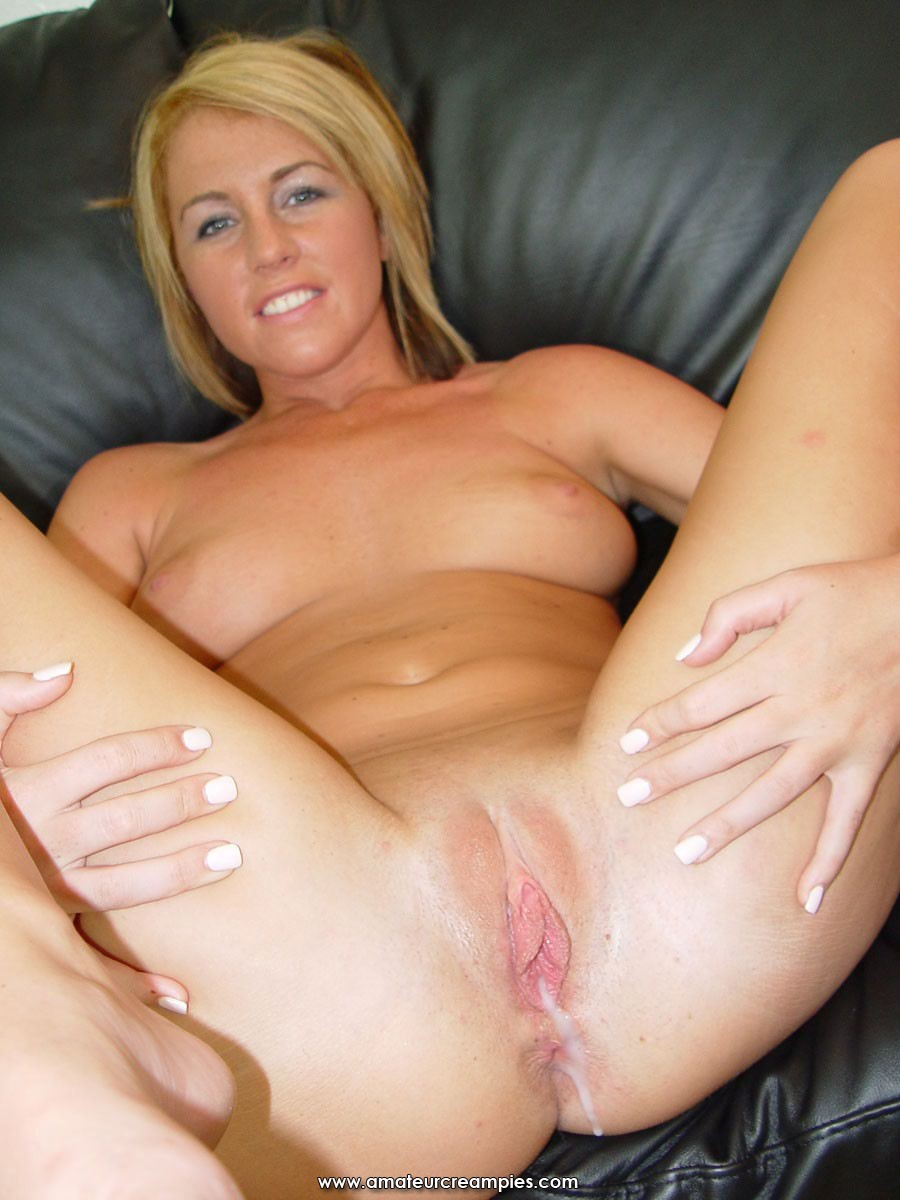 Shaved milf pussy creampie will your
