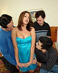Beautiful Babe Loves In A Gangbang Hardcore - Picture 2